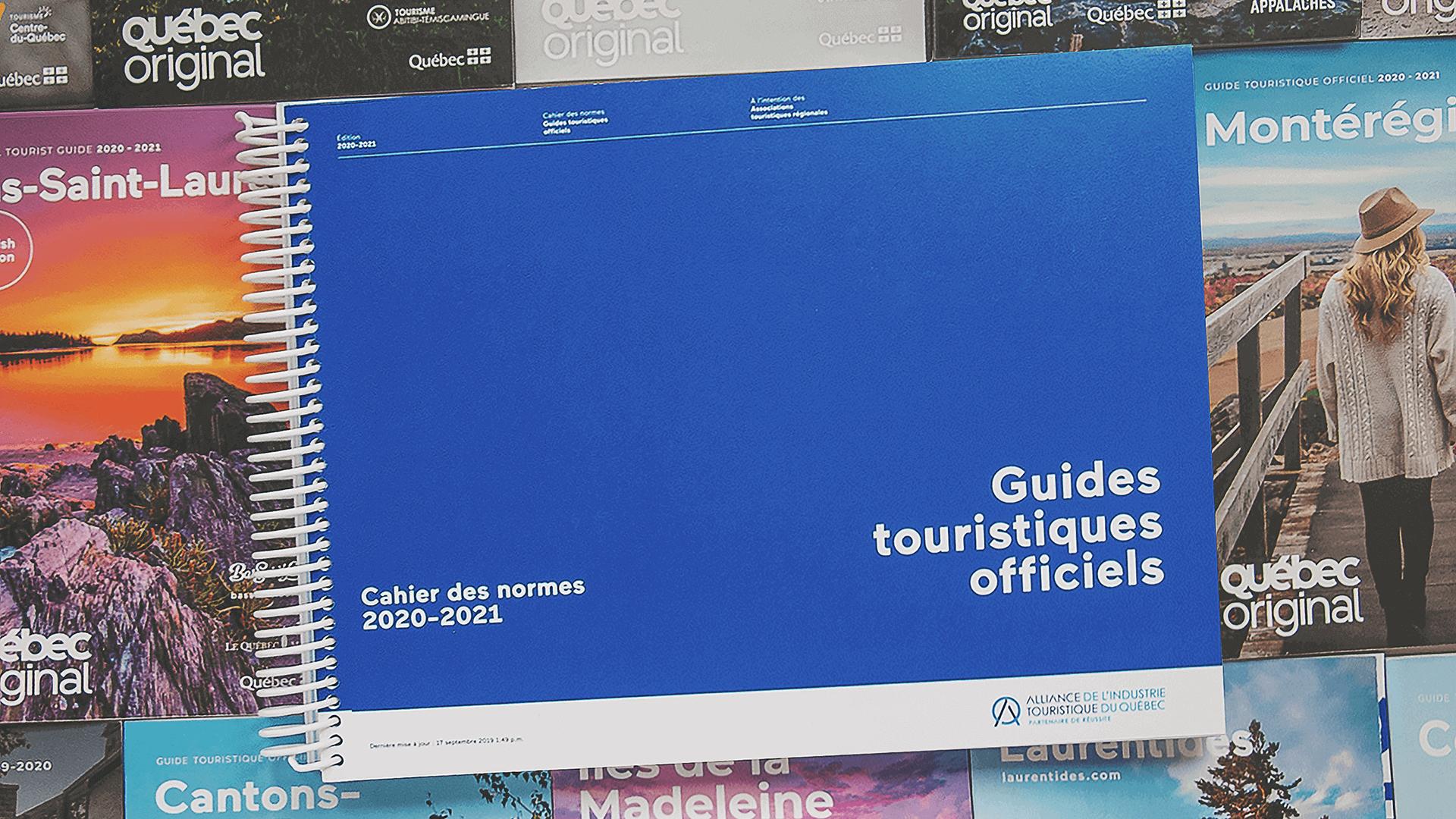 Cahier de normes graphiques   Guide touristique officiel 2020-2021 de Charlevoix   Alliance de l'industrie touristique du Québec