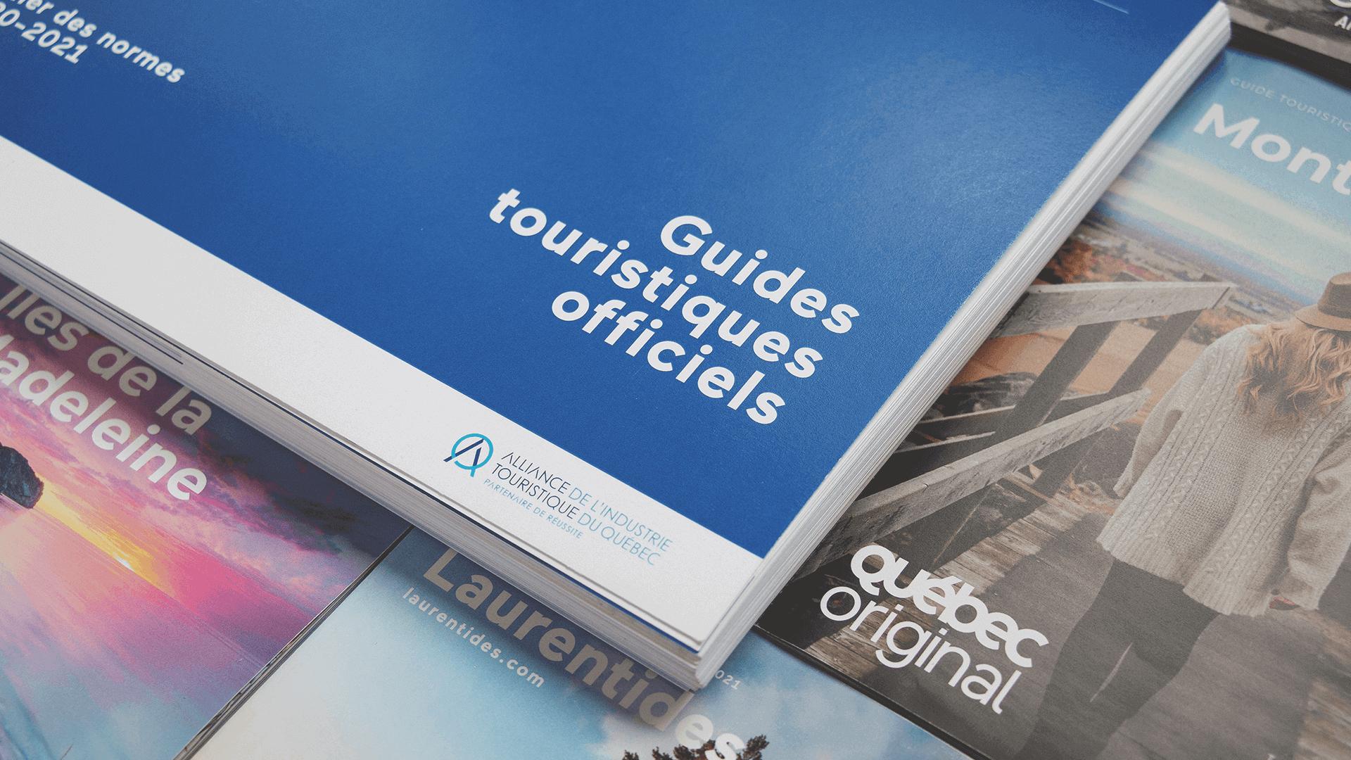 Cahier de normes graphiques   Guides touristiques officiels 2020-2021   Alliance de l'industrie touristique du Québec