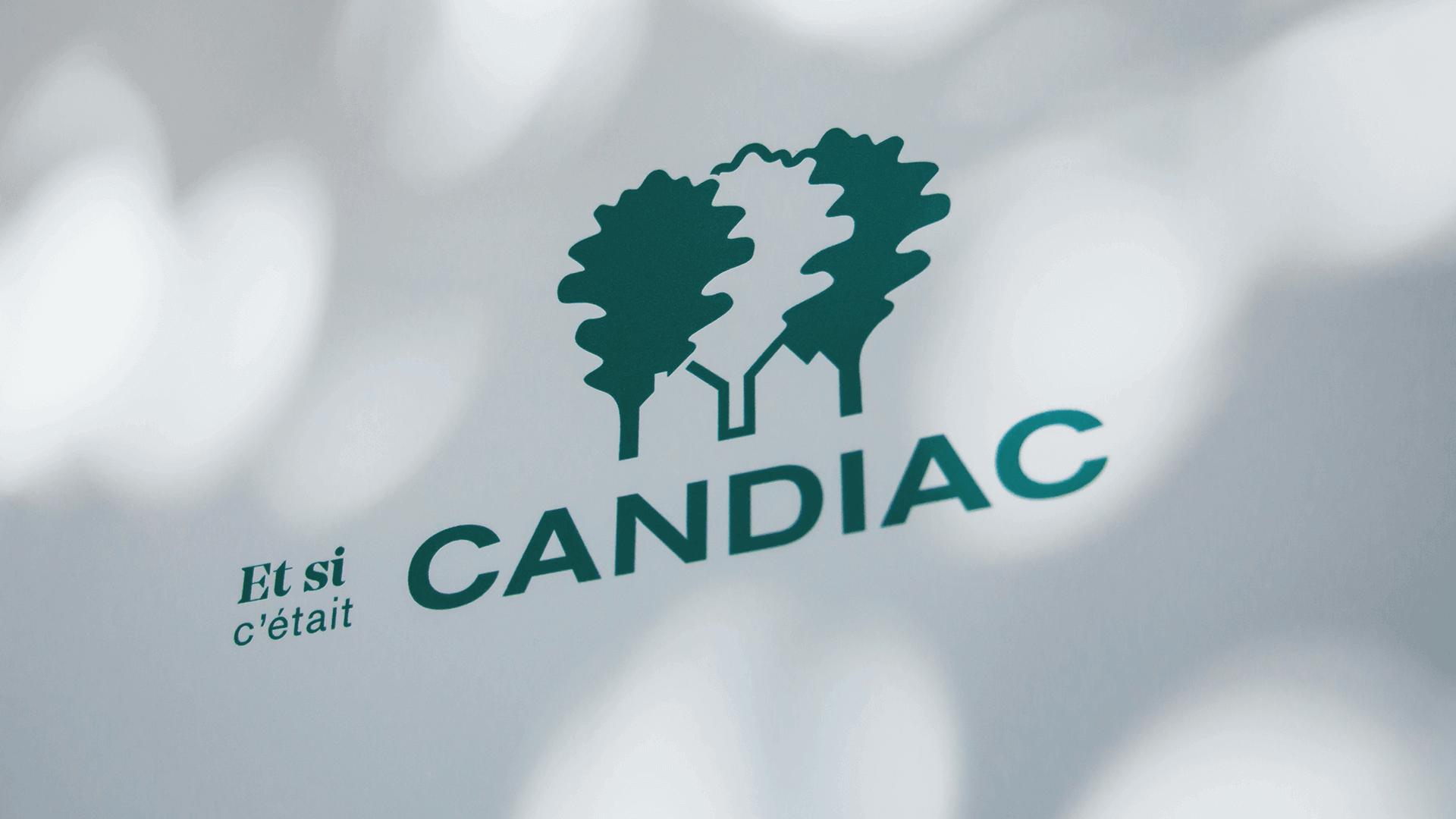 Marketing territorial et Campagne publicitaire   Gros plan sur une affiche   Candiac