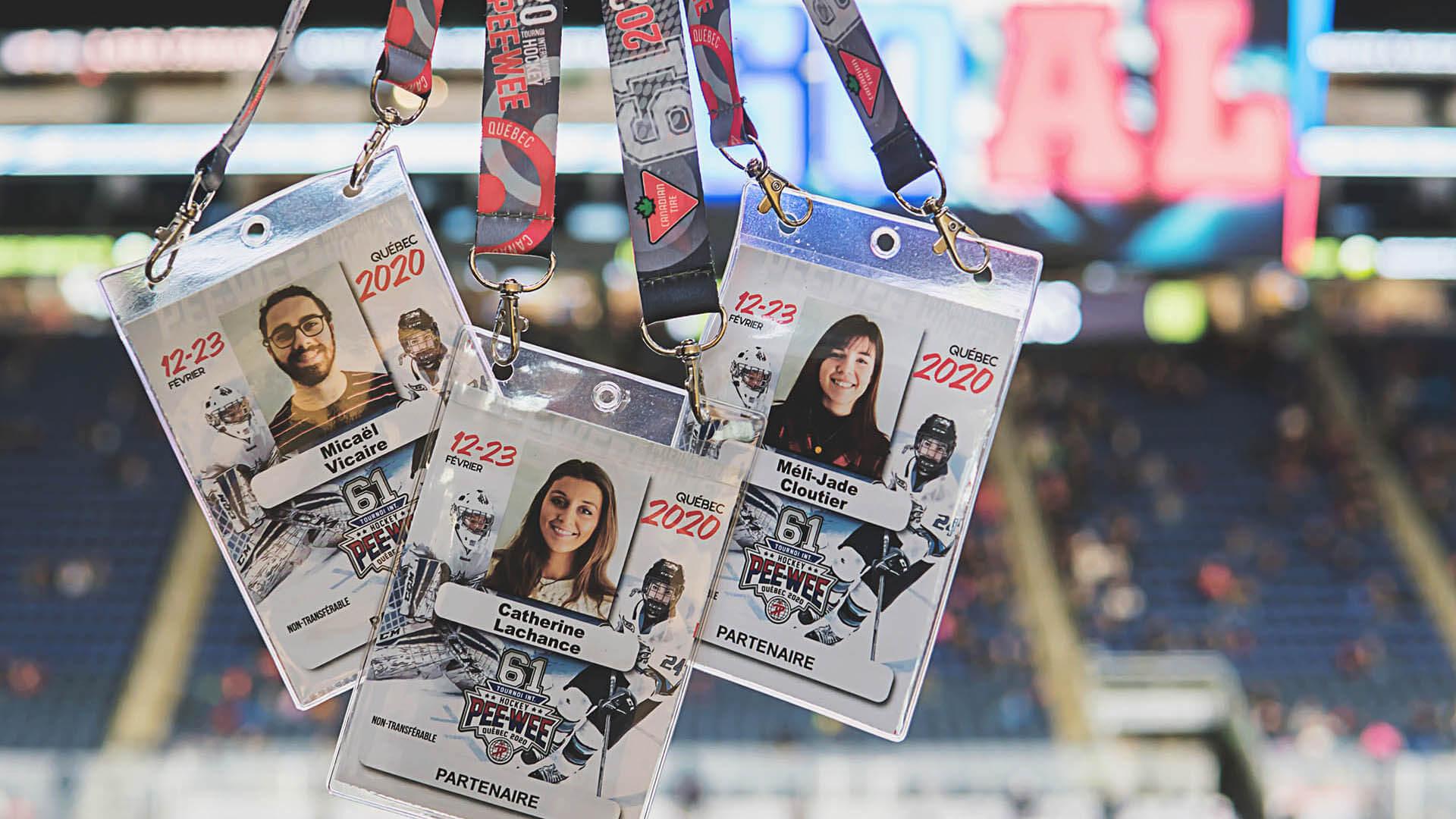 Plan de communication |Cocardes des gestionnaires de communauté |Tournoi International de hockey Pee-Wee de Québec