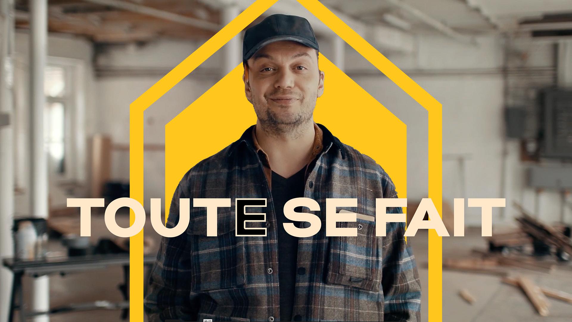 Campagne publicitaire télé   Slogan - Toute se fait   Salon National de l'Habitation