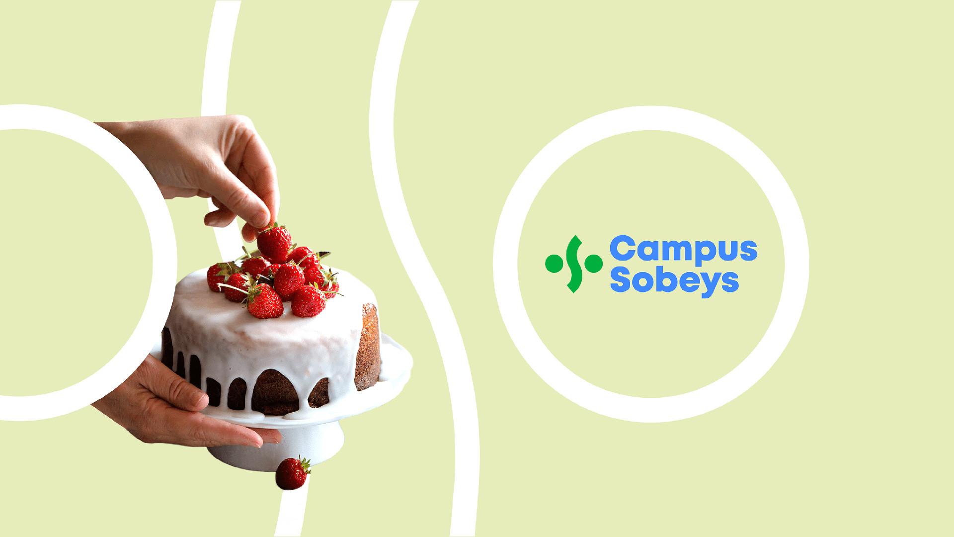 Naming & Branding | Exemple de déclinaison de la marque dans un contexte alimentaire | Campus Sobeys