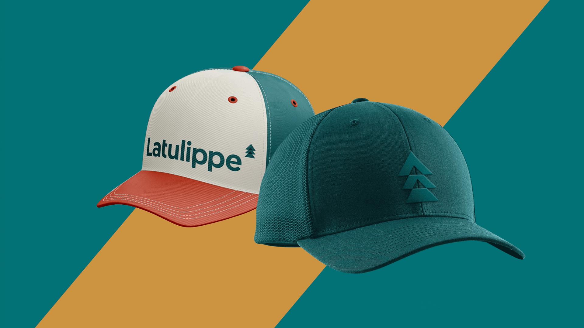 Branding   Casquettes aux couleurs de Latulippe